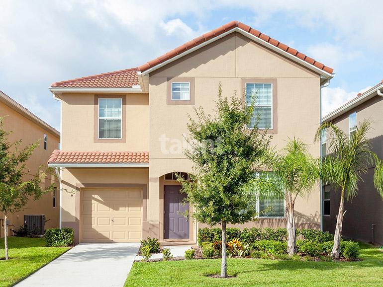 Paradise palms resort casa perto da disney com 6 for Casa moderna orlando