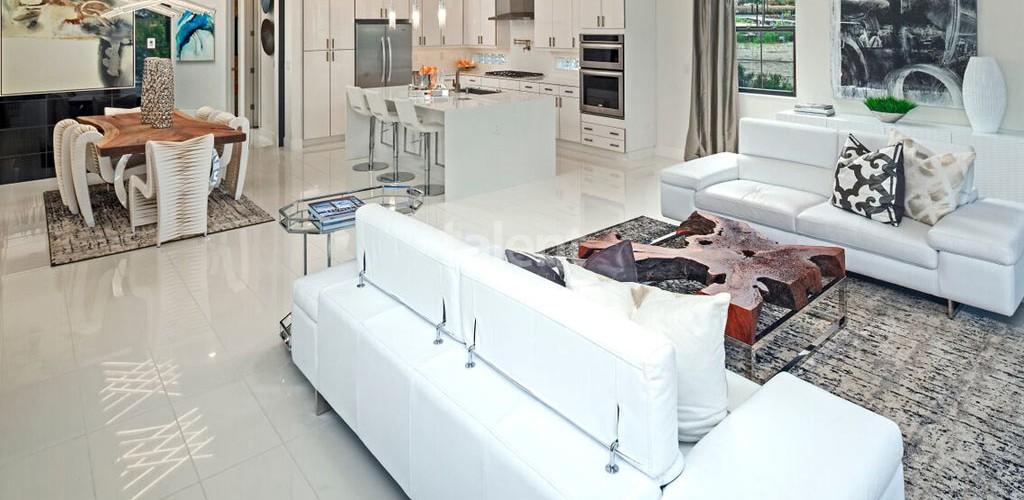 Toscana at Lakeside - Condomínio de luxo em Dr. Phillips, Orlando Sala de estar