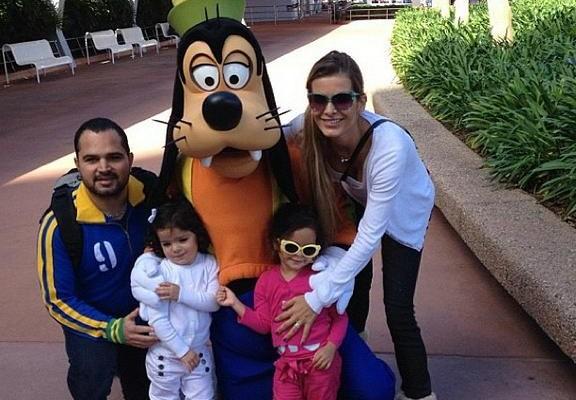 Luciano e sua casa em Orlando