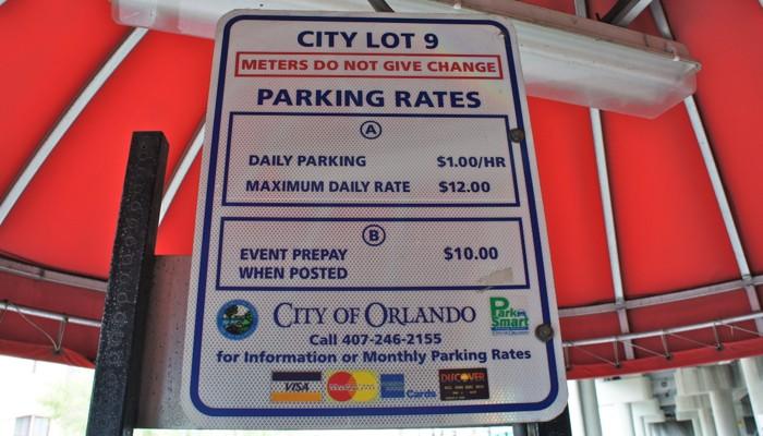 Estacionamento em Orlando