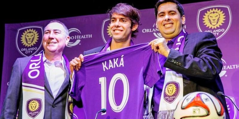 Kaká fecha com time de futebol local e vem morar em Orlando