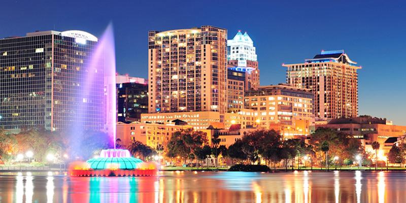 Orlando é considerada uma das cidades mais felizes dos Estados Unidos