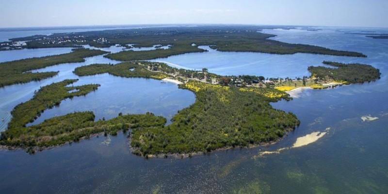 Conheça a ilha paradisíaca à venda na Flórida