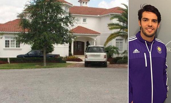 Kaká muda para os Estados Unidos e decide comprar casa em Orlando