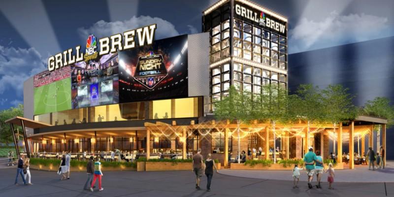Novo restaurante da NCB Sports inaugura no Orlando Universal CityWalk