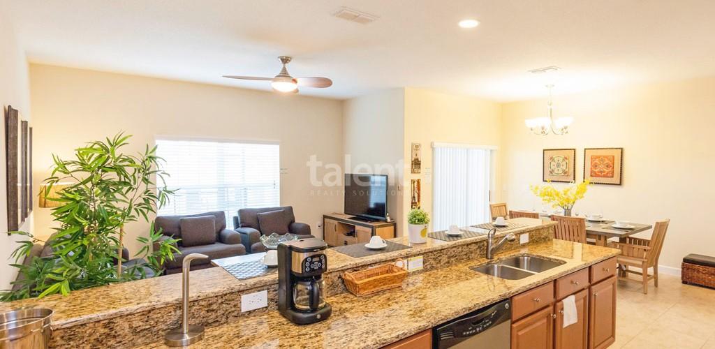 Casas a venda em Orlando cozinha