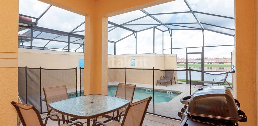 Casas a venda em Orlando piscina