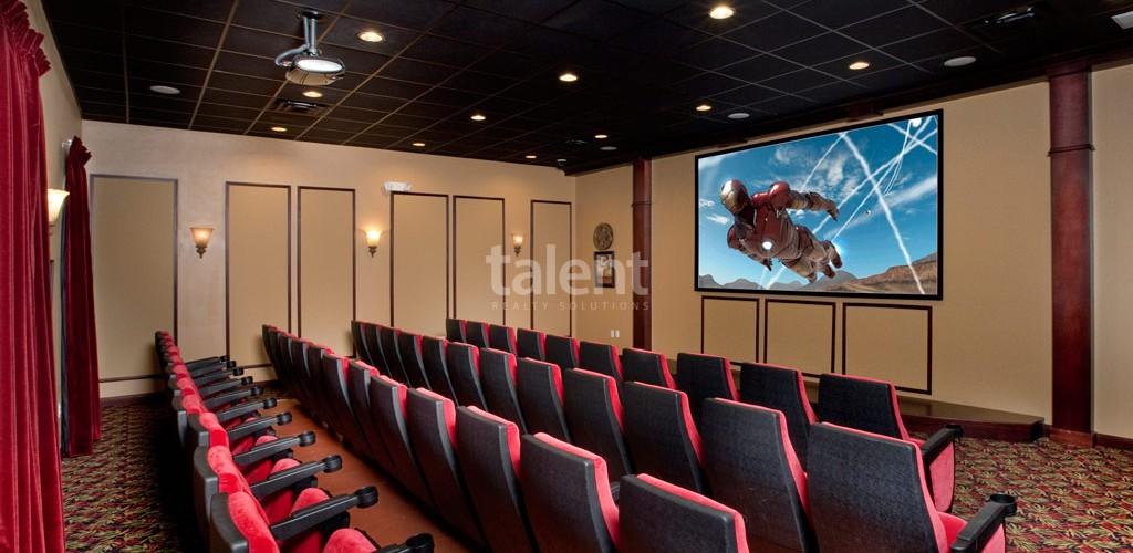 Casas a venda em Orlando cinema