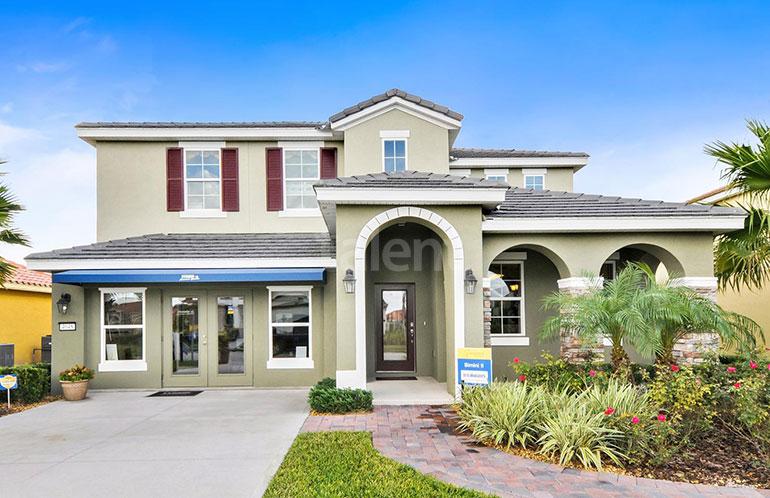 Casa a venda em Orlando, Condomínio Solterra - Fachada