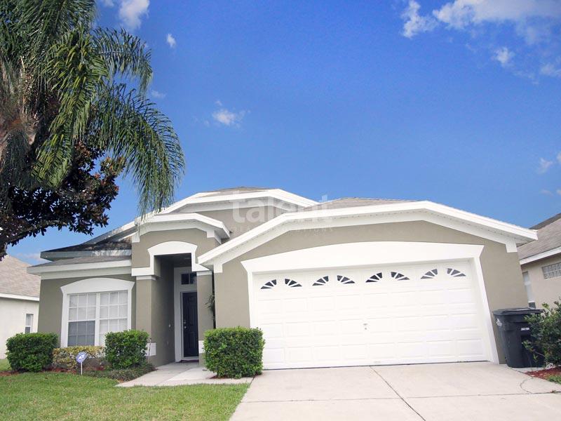Windsor Palms - Comprar casa em Orlando perto da Disney Entrada