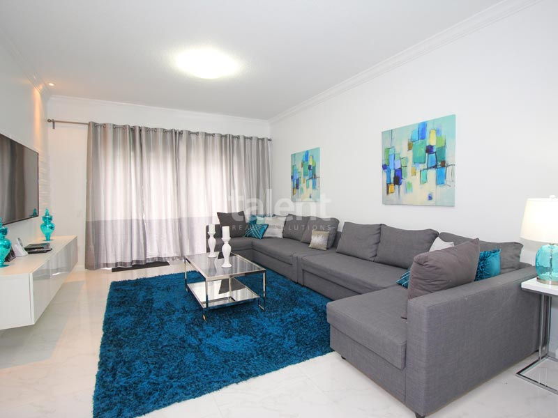 Windsor Palms - Comprar casa em Orlando perto da Disney Sala de estar