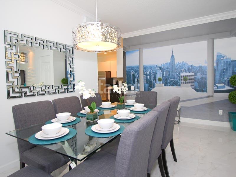 Windsor Palms - Comprar casa em Orlando perto da Disney Mesa de jantar