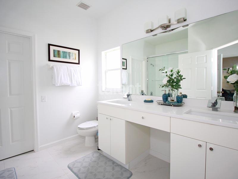 Windsor Palms - Comprar casa em Orlando perto da Disney Banheiro 1