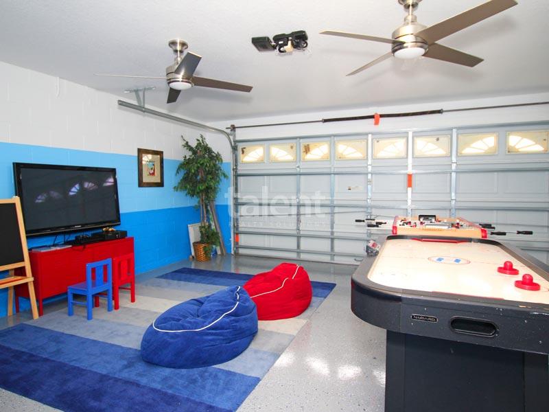 Windsor Palms - Comprar casa em Orlando perto da Disney Sala de jogos