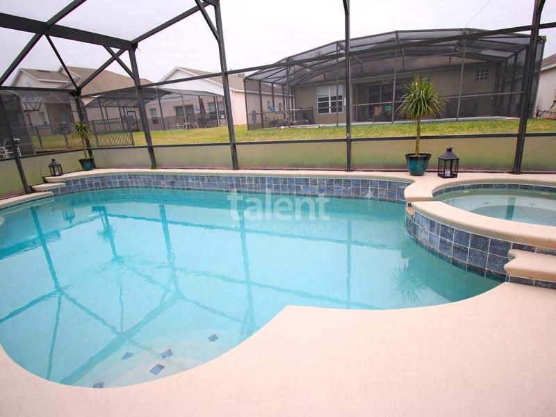 Windsor Palms - Comprar casa em Orlando perto da Disney Piscina privativa