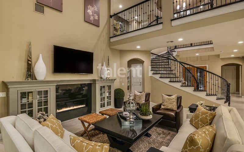 Enclave at VillageWalke - Novo condomínio em Orlando Sala de estar