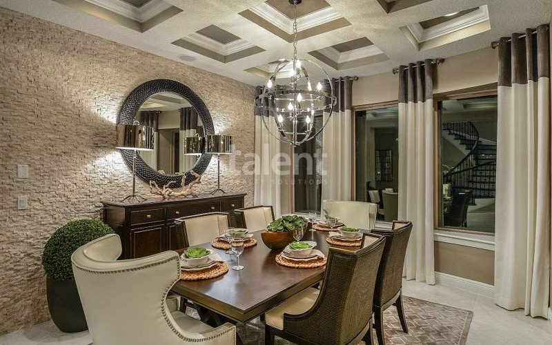 Enclave at VillageWalke - Novo condomínio em Orlando Sala de jantar