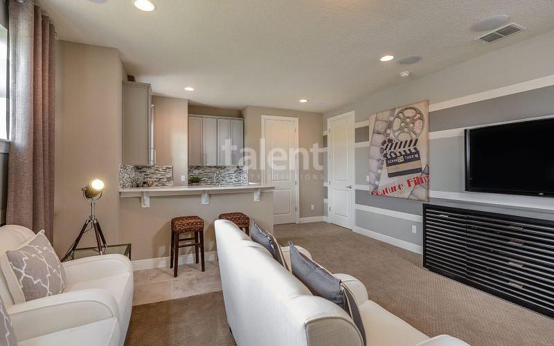 Enclave at VillageWalke - Novo condomínio em Orlando Sala íntima