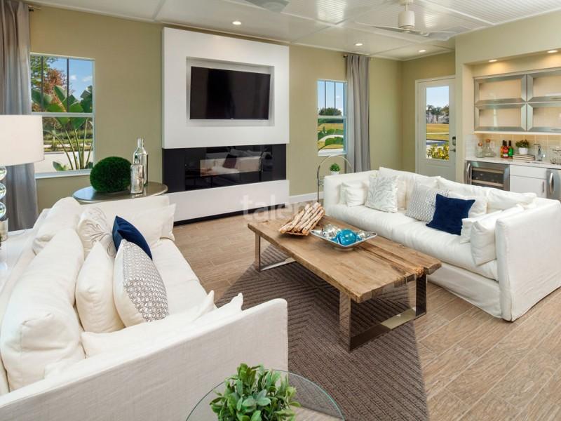Reunion Resort - Lugar perfeito para comprar casa em Orlando Sala de estar