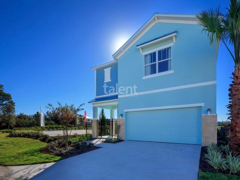 Reunion Resort - Lugar perfeito para comprar casa em Orlando Garagem
