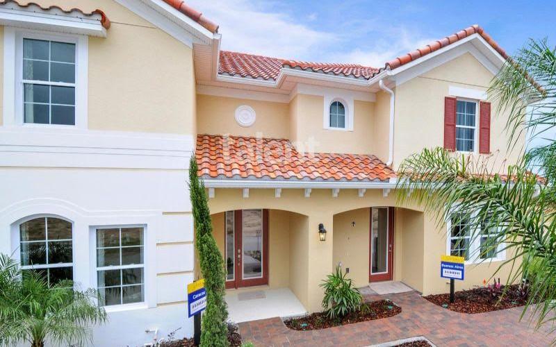 Solterra Resort - Townhouses, Casas em Orlando região da Disney Entrada