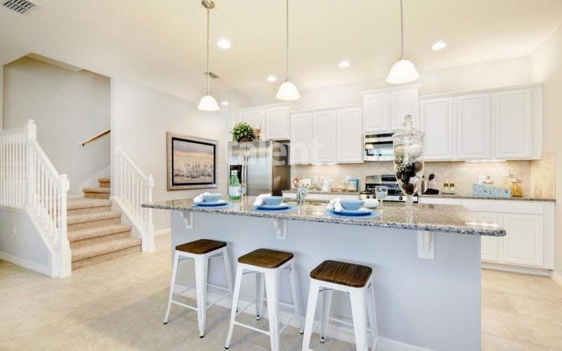 Solterra Resort - Townhouses, Casas em Orlando região da Disney Cozinha