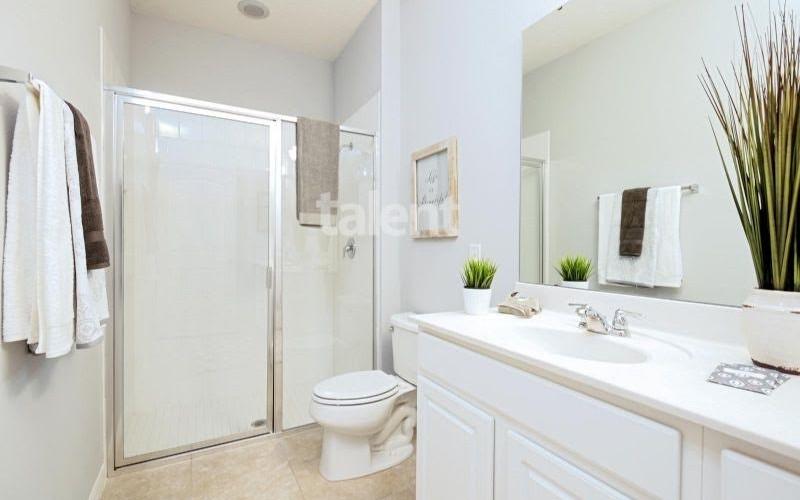 Solterra Resort - Townhouses, Casas em Orlando região da Disney Banheiro 4