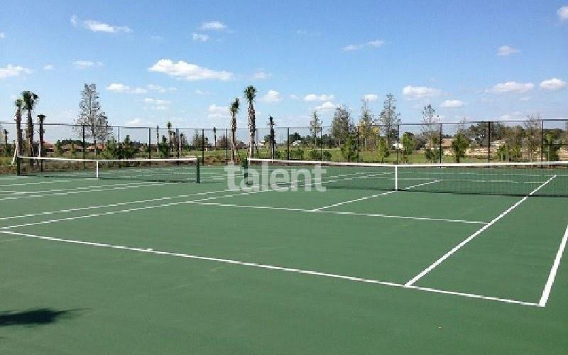 Solterra Resort - Townhouses, Casas em Orlando região da Disney Quadra de tennis