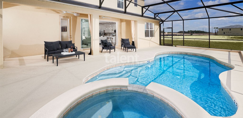Sonoma Resort - Casa a venda em Orlando próximo ao The Loop Mall Piscina privativa