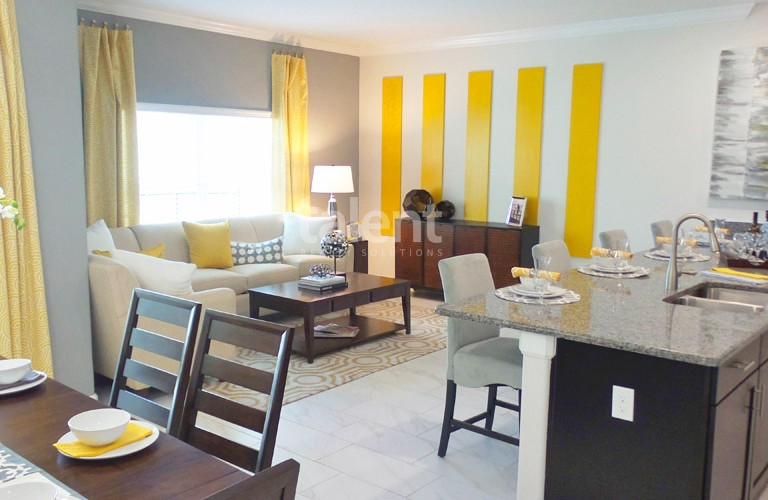 The Cove Resort - Casas em Orlando perto da Disney Sala de estar
