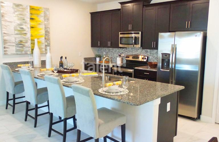 The Cove Resort - Casas em Orlando perto da Disney Cozinha