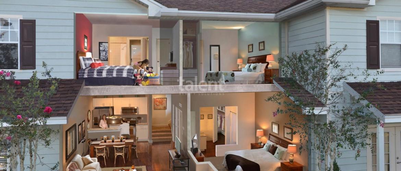 West Lucaya Village Resort - Ótimo investimento para temporada em Orlando Vista lateral