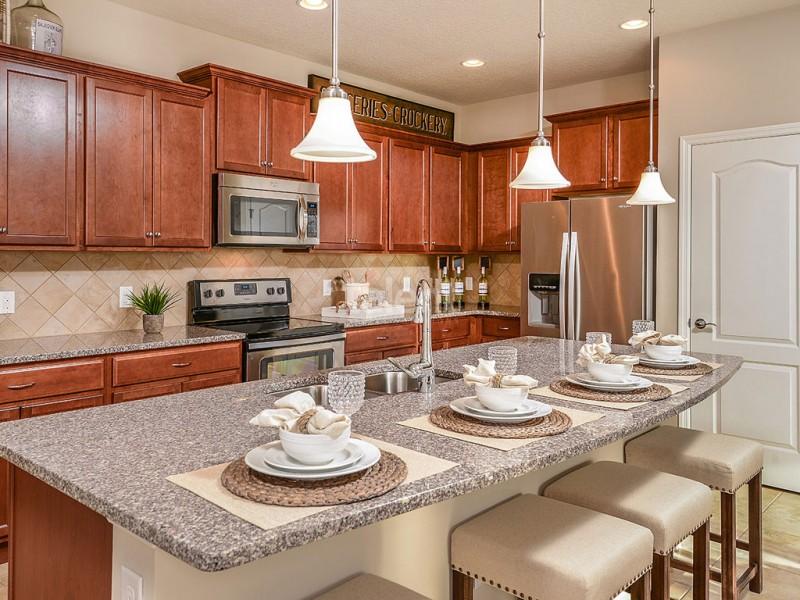 Windsor At Westside - Towhouse em Orlando na região de Kissimmee Cozinha