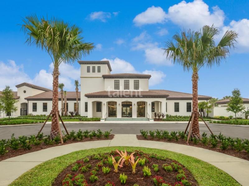 Windsor At Westside - Towhouse em Orlando na região de Kissimmee Condomínio