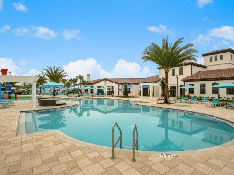 Windsor At Westside - Towhouse em Orlando na região de Kissimmee Clubhouse