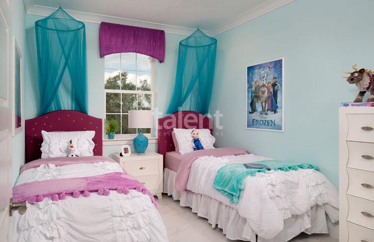 Festival Resort - Invista em uma Casa na Disney Quarto 3
