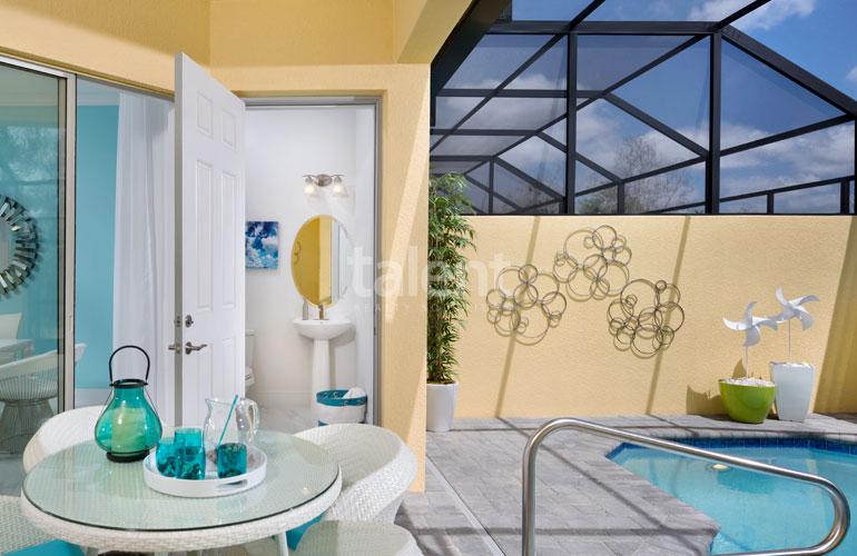 Festival Resort - Invista em uma Casa na Disney Área da piscina