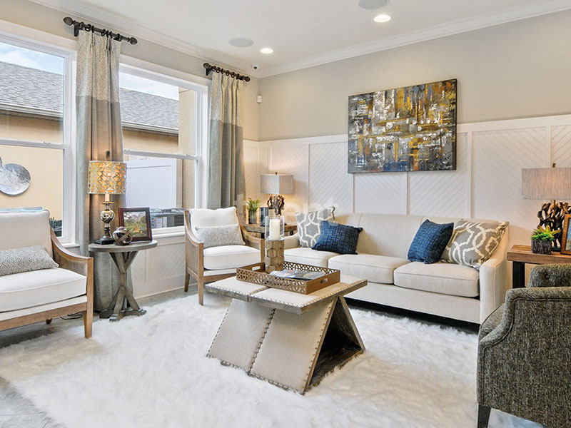 Windermere Trails - Tenha uma Casa na Disney Sala de estar