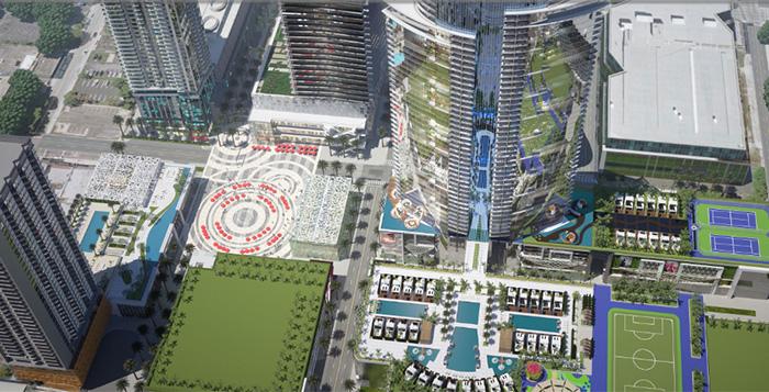 Começa a construção do maior empreendimento imobiliário da história da Flórida