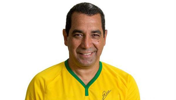 Jogador Zinho, Tetra-Campeao na Copa de 94, é novo garoto propaganda da TALENT