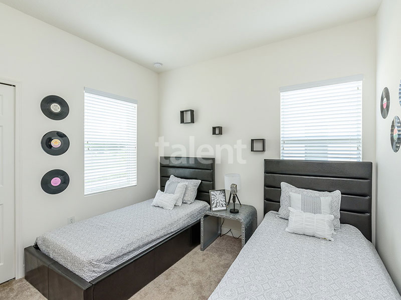 Bridgewater - Comprar casa em Orlando em frente ao lago Quarto 3