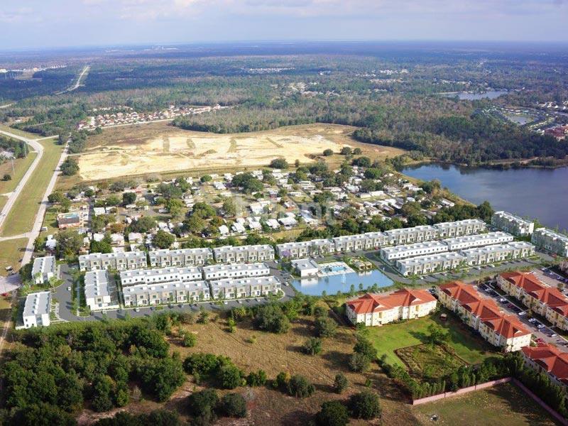 Crystal Ridge - Casas à venda em Orlando Vista aérea