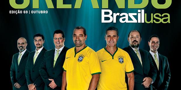 Talent, Sua Imobiliária em Orlando, é destaque na revista Brazil USA