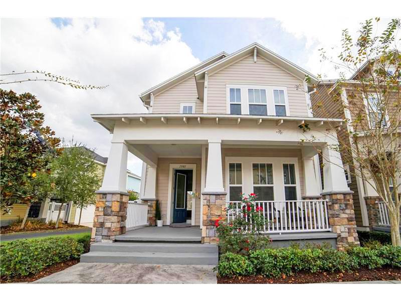 Celebration - Casa para morar em Orlando Entrada