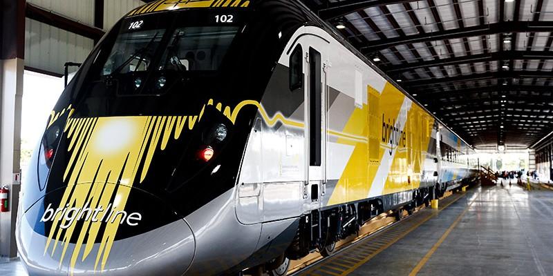 Trem ligará Miami a Orlando